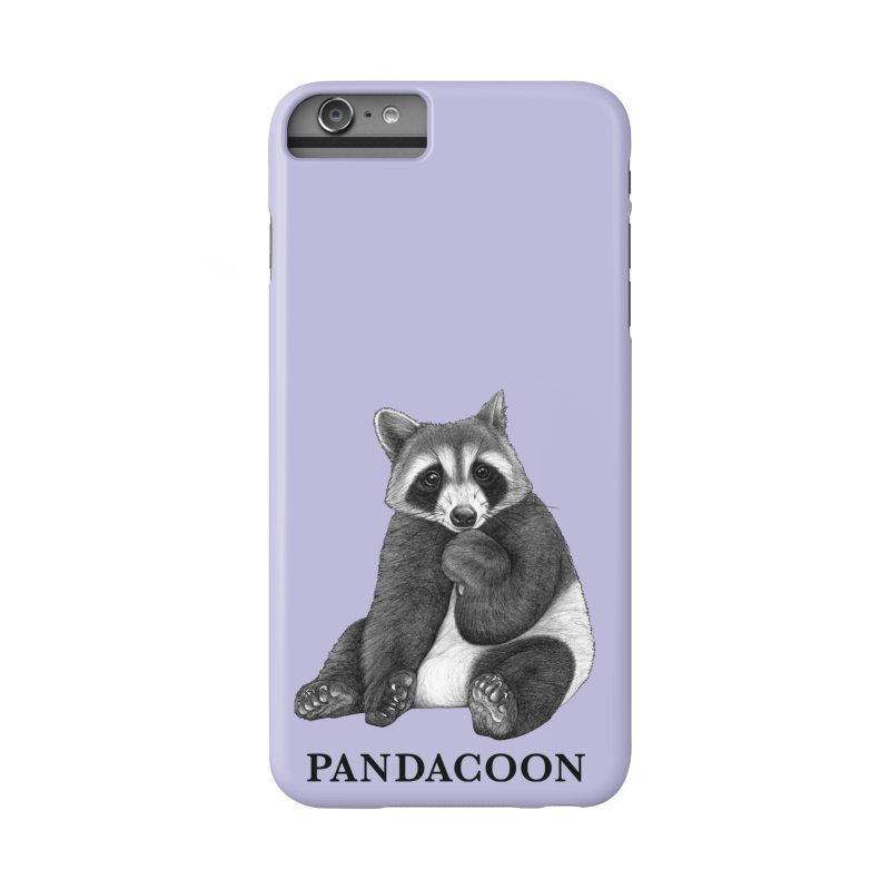Pandacoon   Panda + Raccoon Hybrid Animal Accessories Phone Case by Whatif Creations   Shop Hybrid Animals!
