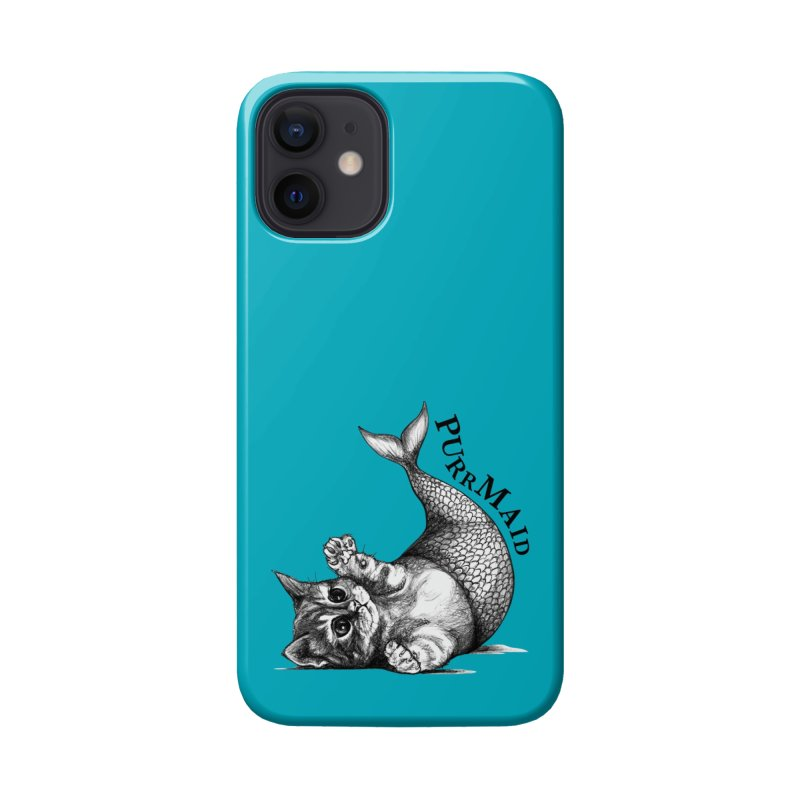 Purrmaid | Cat + Mermaid Hybrid Animal Accessories Phone Case by Whatif Creations | Shop Hybrid Animals!