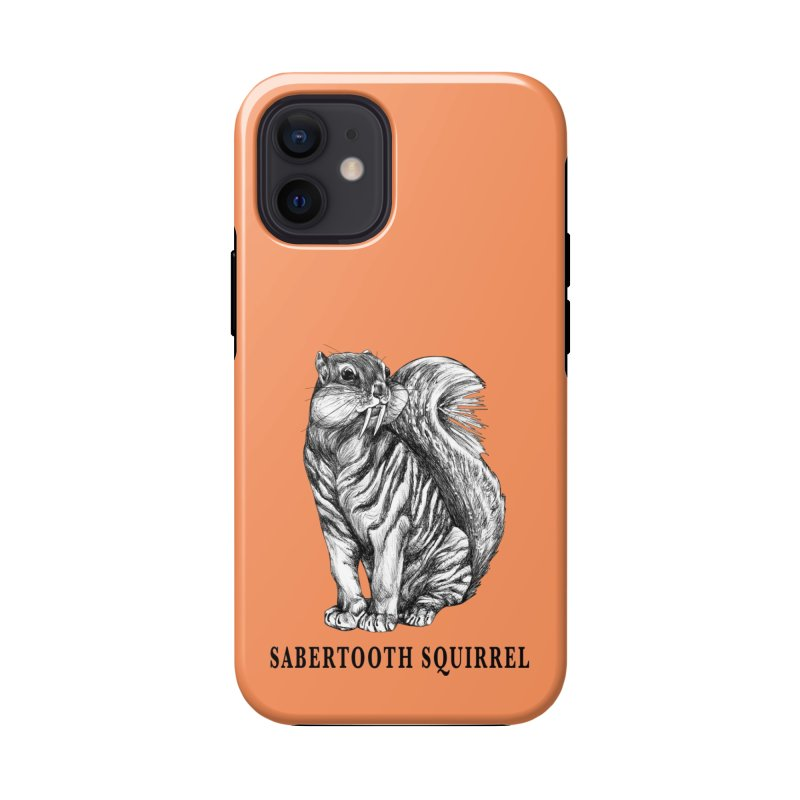 Sabertooth Squirrel   Sabertooth Tiger + Squirrel Hybrid Animal Accessories Phone Case by Whatif Creations   Shop Hybrid Animals!