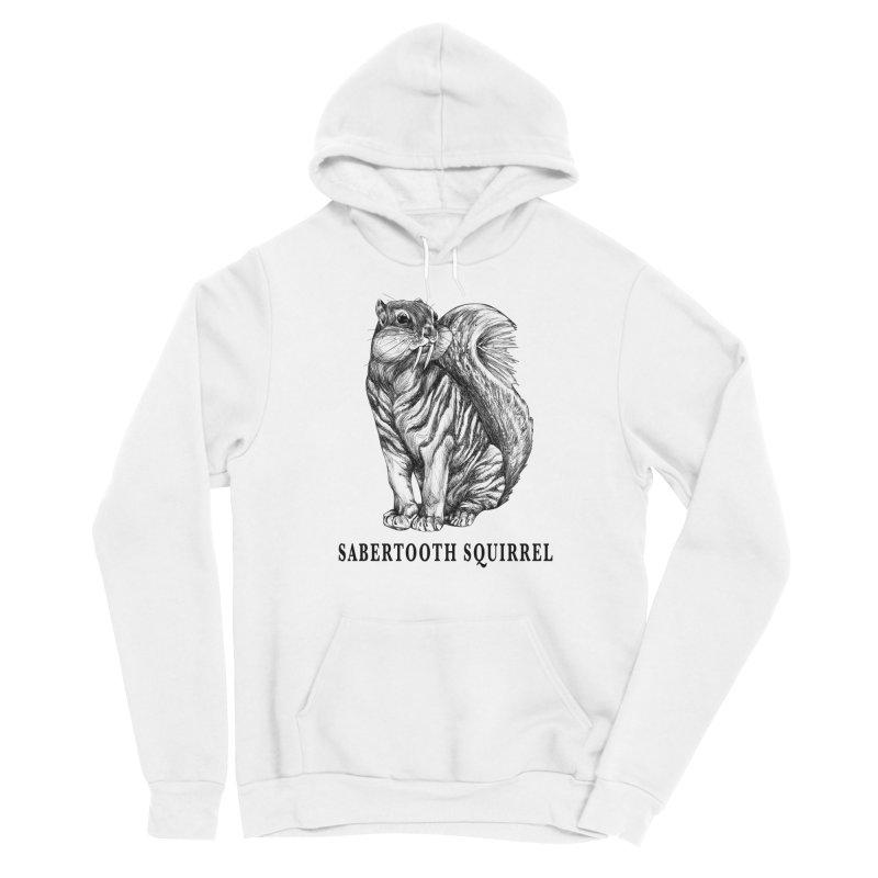 Sabertooth Squirrel | Sabertooth Tiger + Squirrel Hybrid Animal Women's Pullover Hoody by Whatif Creations | Shop Hybrid Animals!
