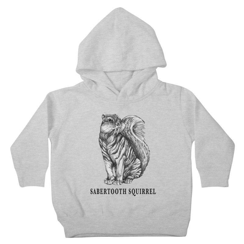 Sabertooth Squirrel | Sabertooth Tiger + Squirrel Hybrid Animal Kids Toddler Pullover Hoody by Whatif Creations | Shop Hybrid Animals!