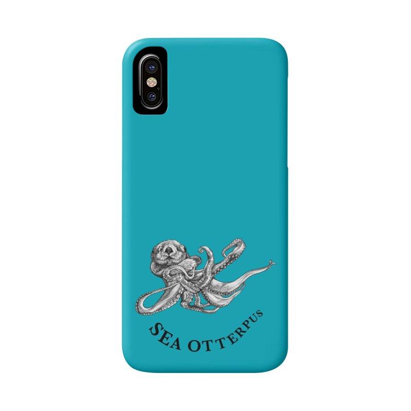 Sea Otterpus   Sea Otter + Octopus Hybrid Animal Accessories Phone Case by Whatif Creations   Shop Hybrid Animals!