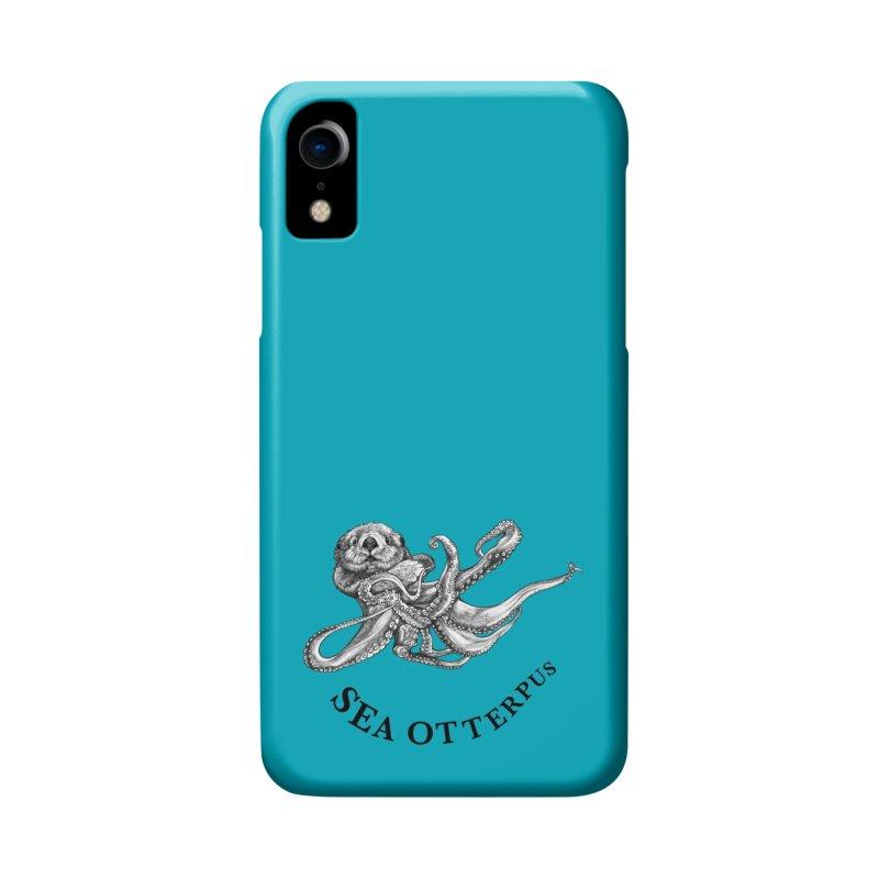 Sea Otterpus | Sea Otter + Octopus Hybrid Animal Accessories Phone Case by Whatif Creations | Shop Hybrid Animals!