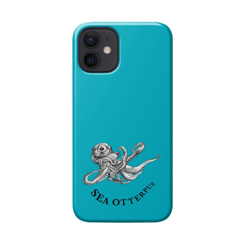 Sea Otterpus | Sea Otter + Octopus Hybrid Animal Accessories Phone Case by Whatif Creations | Shop Hybrid Animals!