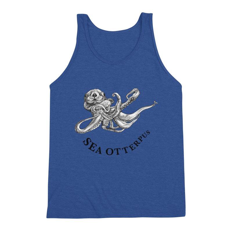 Sea Otterpus | Sea Otter + Octopus Hybrid Animal Men's Tank by Whatif Creations | Shop Hybrid Animals!