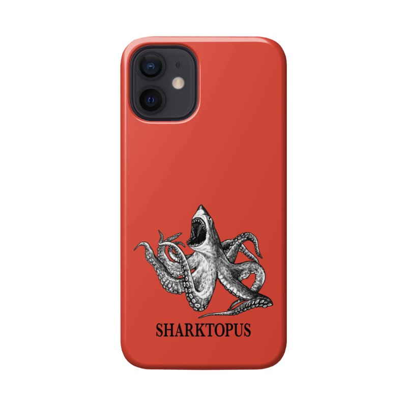 Sharktopus | Great White Shark + Octopus Hybrid Animal Accessories Phone Case by Whatif Creations | Shop Hybrid Animals!