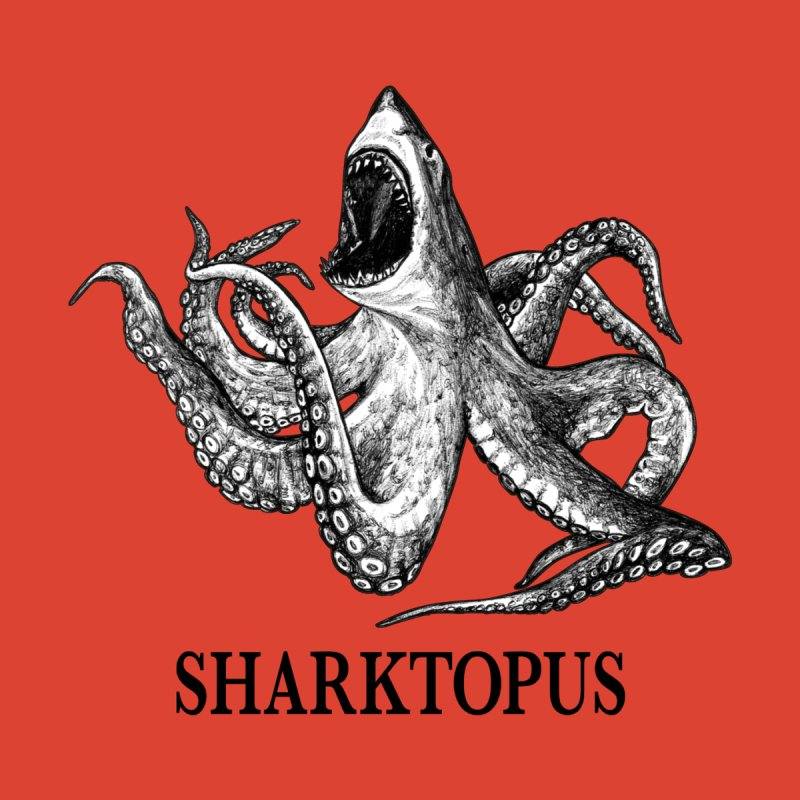 Sharktopus | Great White Shark + Octopus Hybrid Animal Men's Tank by Whatif Creations | Shop Hybrid Animals!