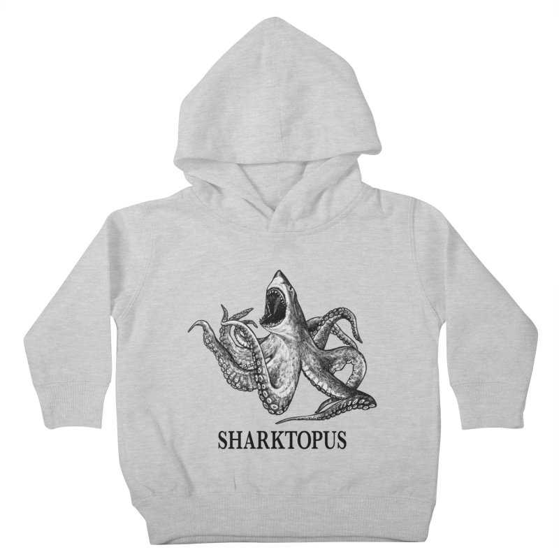 Sharktopus | Great White Shark + Octopus Hybrid Animal Kids Toddler Pullover Hoody by Whatif Creations | Shop Hybrid Animals!