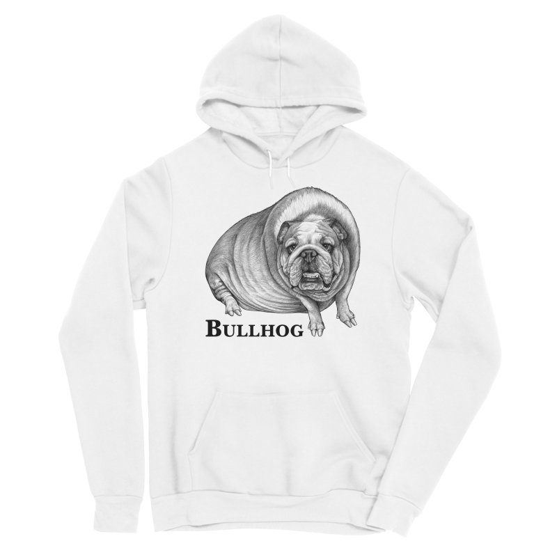 Bullhog   Bulldog + Hog Hybrid Animal Men's Pullover Hoody by Whatif Creations   Shop Hybrid Animals!