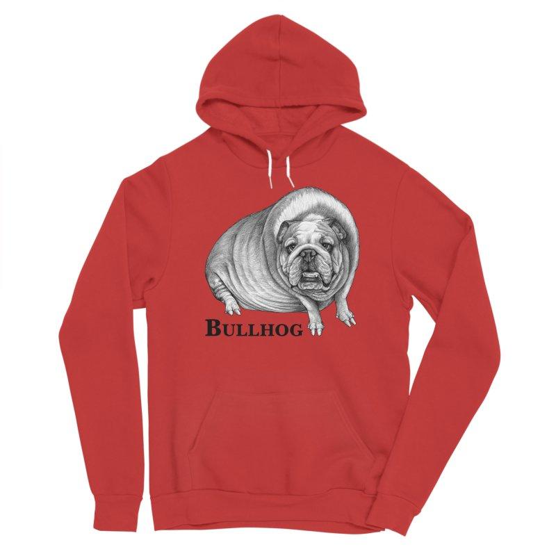 Bullhog | Bulldog + Hog Hybrid Animal Women's Pullover Hoody by Whatif Creations | Shop Hybrid Animals!
