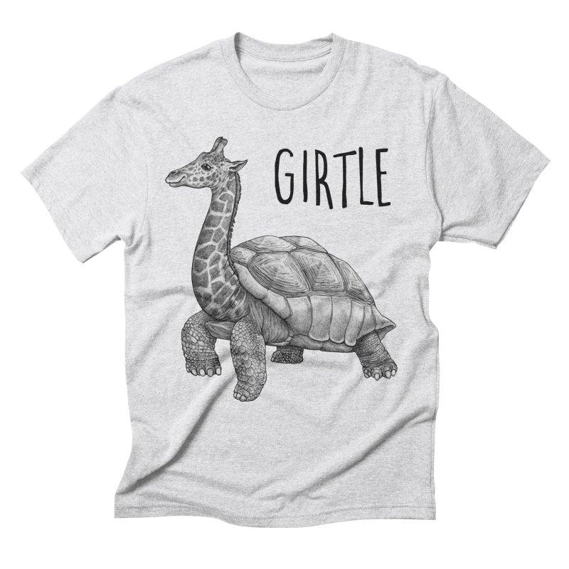 Girtle   Giraffe + Turtle Hybrid Animal Men's T-Shirt by Whatif Creations   Shop Hybrid Animals!