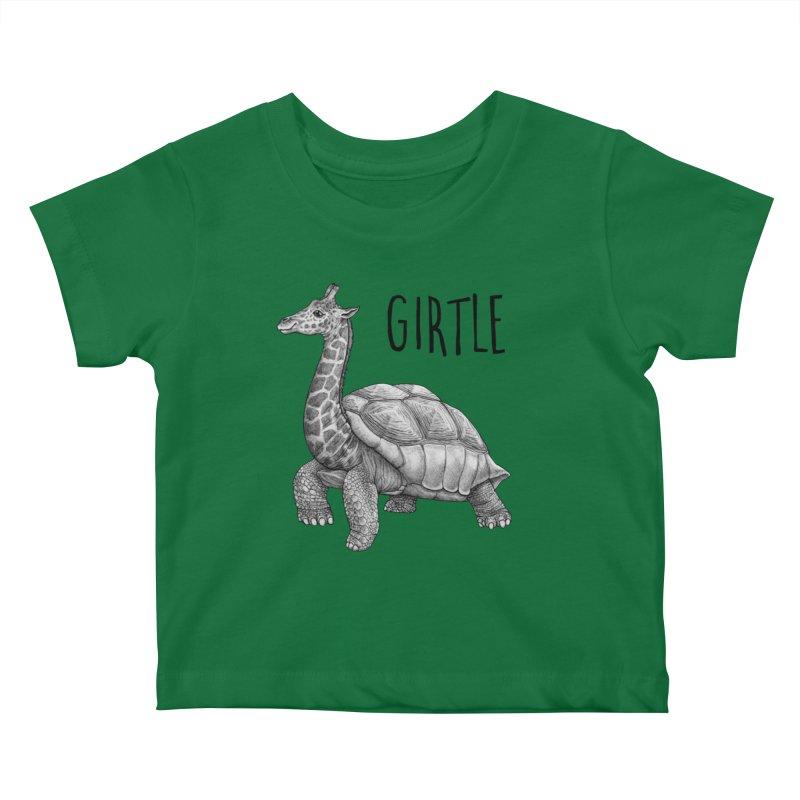 Girtle   Giraffe + Turtle Hybrid Animal Kids Baby T-Shirt by Whatif Creations   Shop Hybrid Animals!