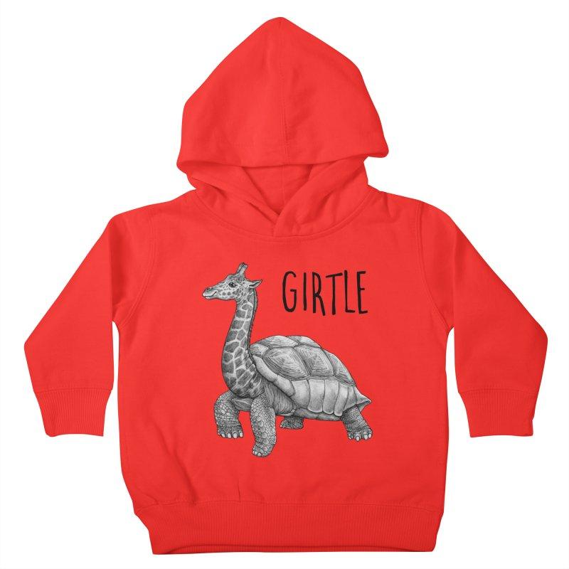 Girtle | Giraffe + Turtle Hybrid Animal Kids Toddler Pullover Hoody by Whatif Creations | Shop Hybrid Animals!