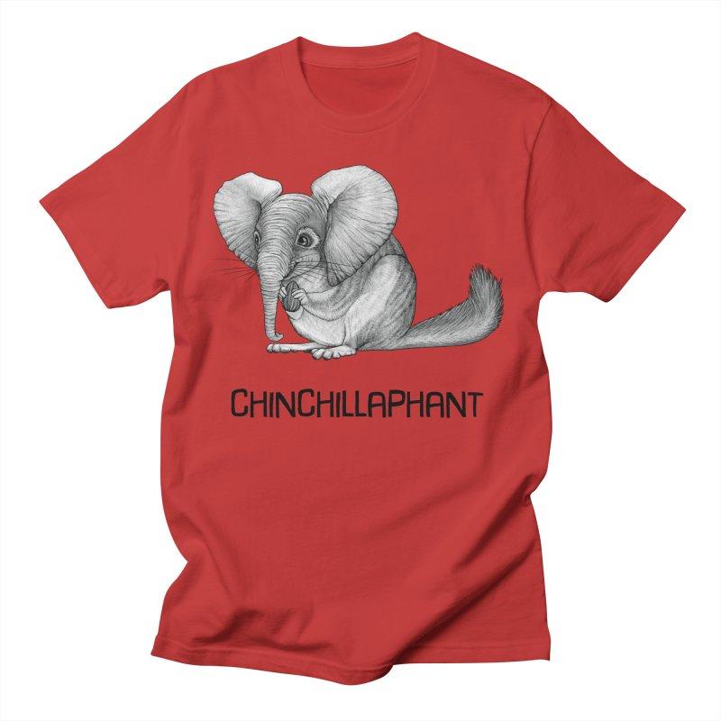 Chinchillaphant   Chinchilla + Elephant Hybrid Animal Men's T-Shirt by Whatif Creations   Shop Hybrid Animals!