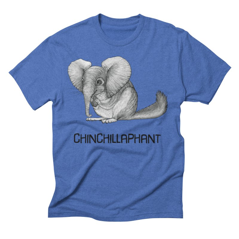 Chinchillaphant | Chinchilla + Elephant Hybrid Animal Men's T-Shirt by Whatif Creations | Shop Hybrid Animals!
