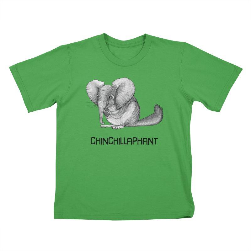 Chinchillaphant   Chinchilla + Elephant Hybrid Animal Kids T-Shirt by Whatif Creations   Shop Hybrid Animals!