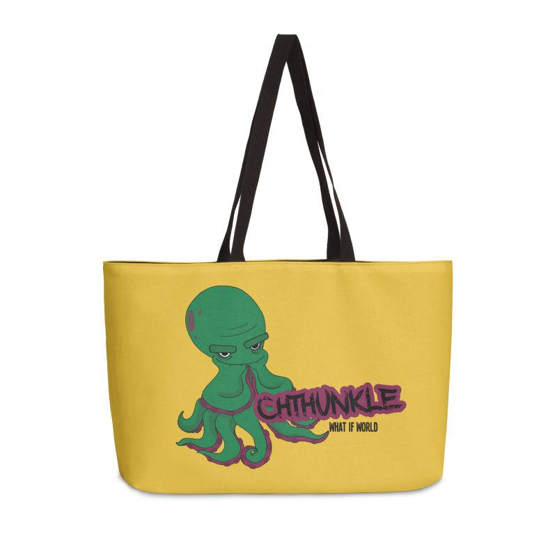 Cthunkle Accessories Bag by What If World's Imaginarium