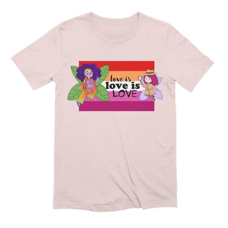 Sprite Alright & Fair Elise Men's T-Shirt by What If World's Imaginarium