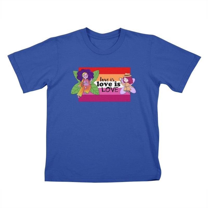 Sprite Alright & Fair Elise Kids T-Shirt by What If World's Imaginarium