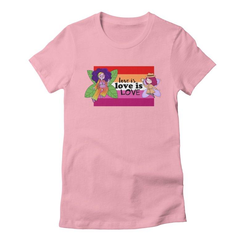 Sprite Alright & Fair Elise Women's T-Shirt by What If World's Imaginarium