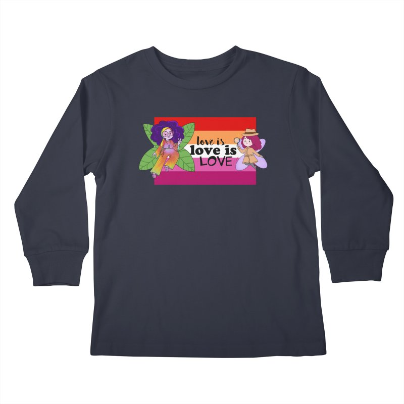 Sprite Alright & Fair Elise Kids Longsleeve T-Shirt by What If World's Imaginarium