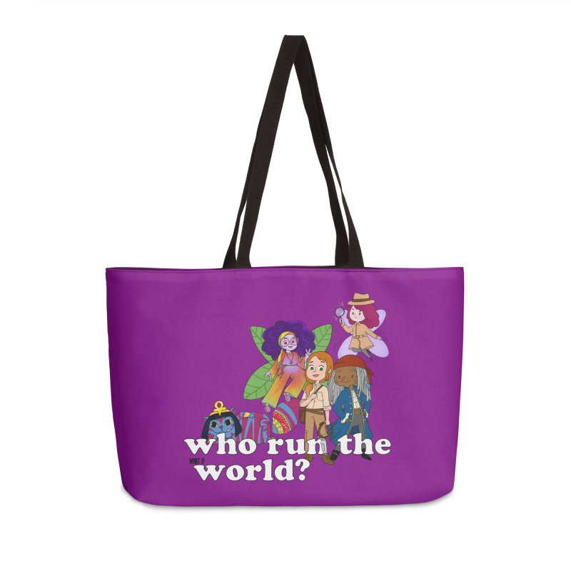 Who run the What If World? Girls! Accessories Bag by What If World's Imaginarium