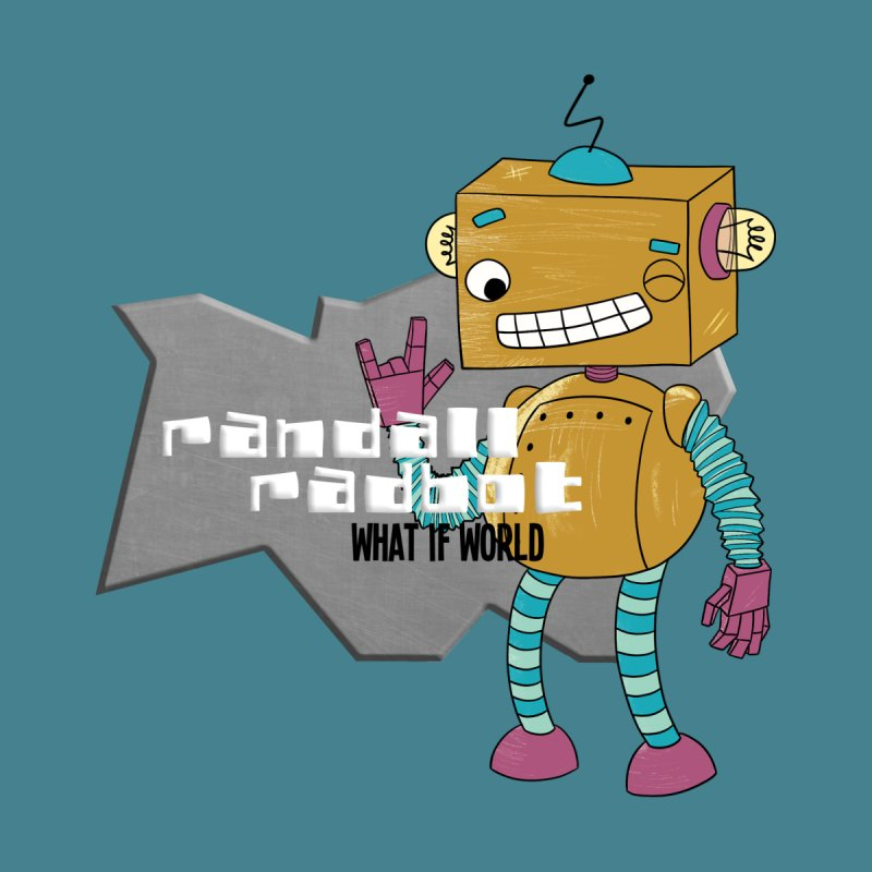 Randall Radbot Kids Longsleeve T-Shirt by What If World's Imaginarium