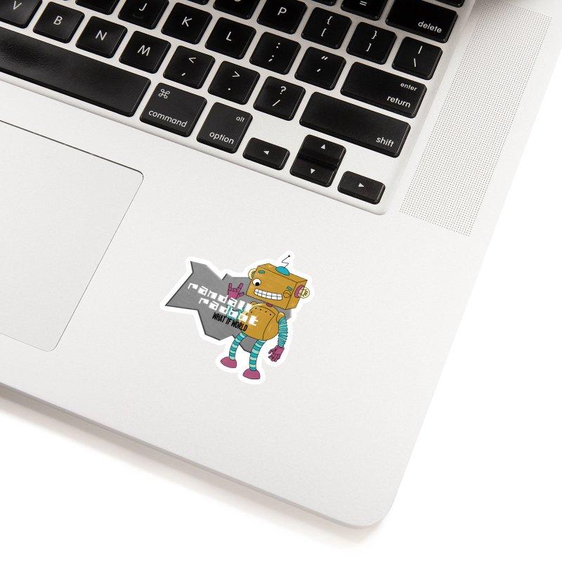 Randall Radbot Accessories Sticker by What If World's Imaginarium