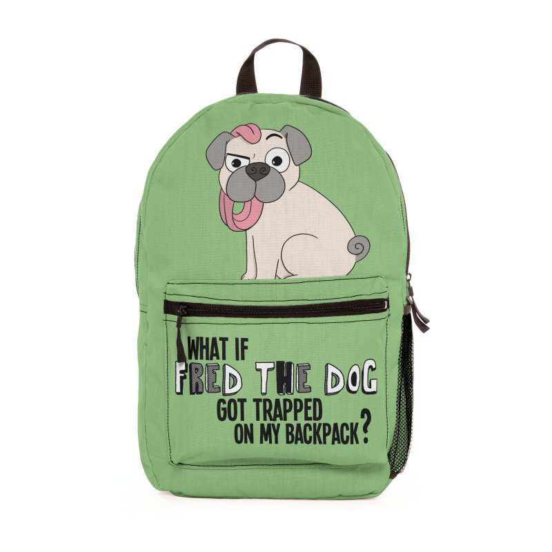 Fred the Dog is Trapped! Accessories Bag by What If World's Imaginarium