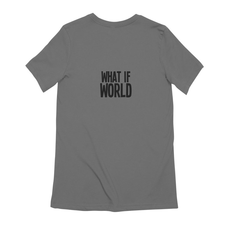 Fred the Dog is Trapped! FEMININE T-Shirt by What If World's Imaginarium