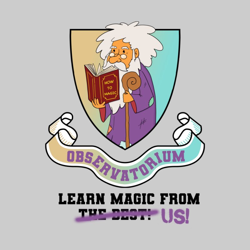 Observatorium School for Magic Men's T-Shirt by What If World's Imaginarium