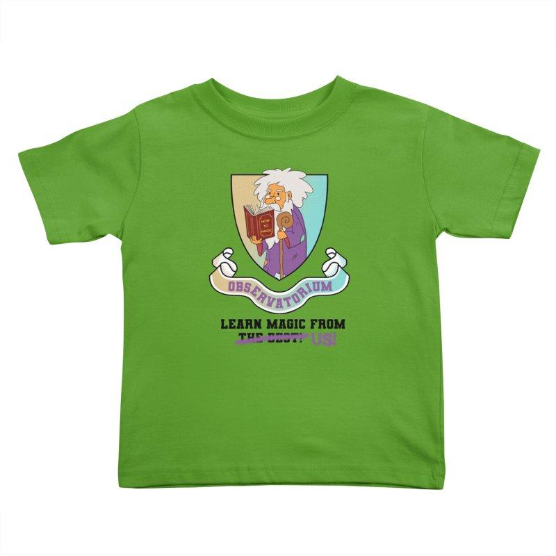 Observatorium School for Magic Kids Toddler T-Shirt by What If World's Imaginarium