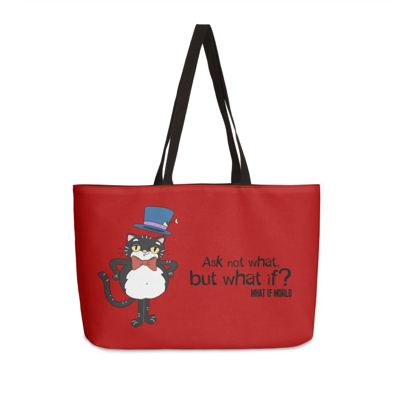 JFKat - If not meow, when? Accessories Bag by What If World's Imaginarium