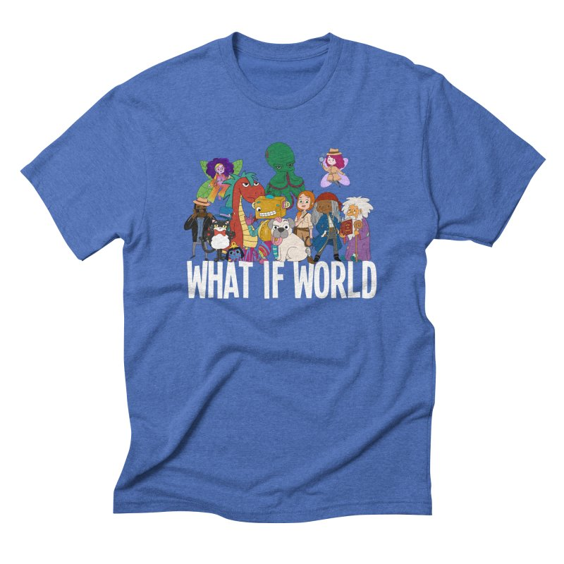 Characters from What If World Men's T-Shirt by What If World's Imaginarium