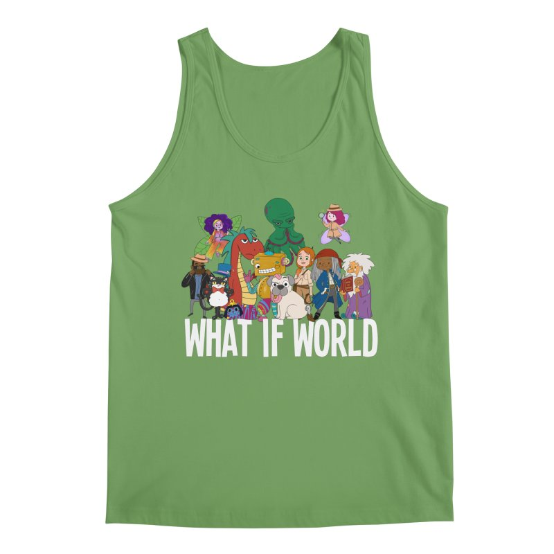 Characters from What If World Men's Tank by What If World's Imaginarium