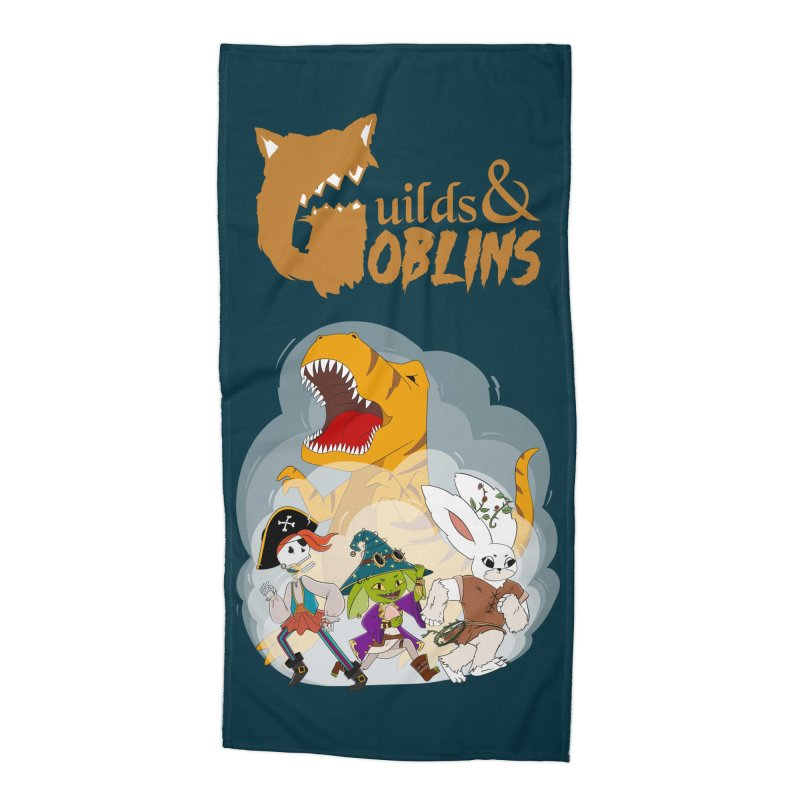 Guilds & Goblins Accessories Beach Towel by What If World's Imaginarium