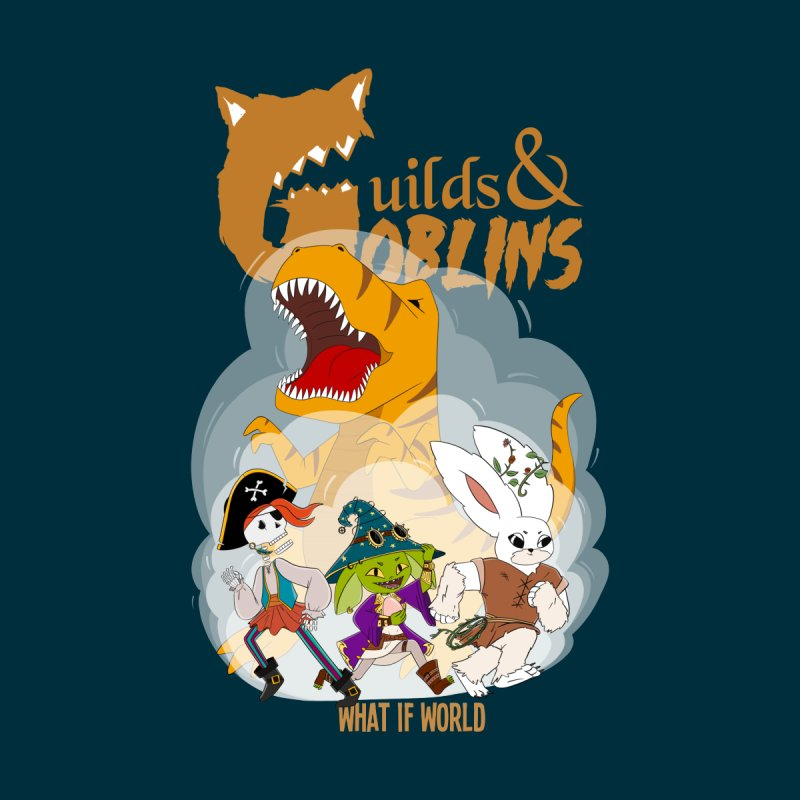 Guilds & Goblins ALL GENDER Sweatshirt by What If World's Imaginarium