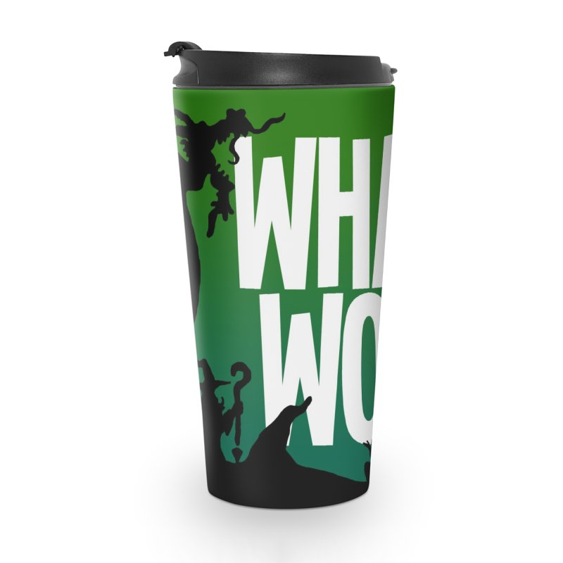 What If World Logo Accessories Mug by What If World's Imaginarium