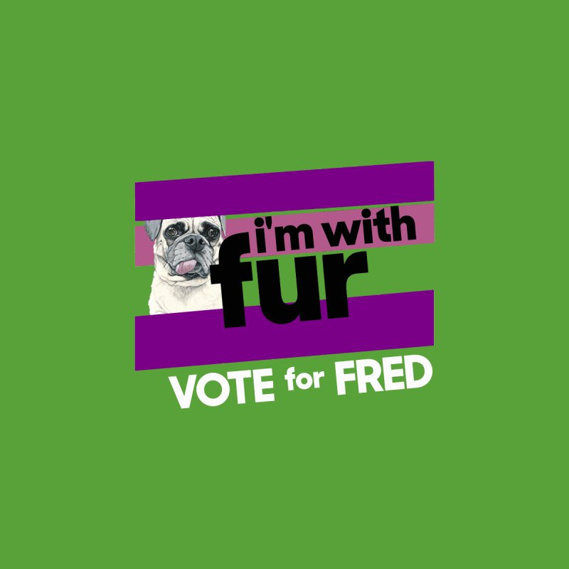 Vote for Fred (Purple) Men's T-Shirt by What If World's Imaginarium