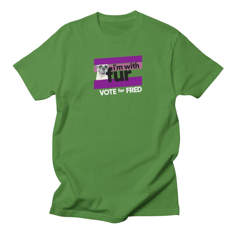 Vote for Fred (Purple) Women's Regular Unisex T-Shirt by What If World's Imaginarium