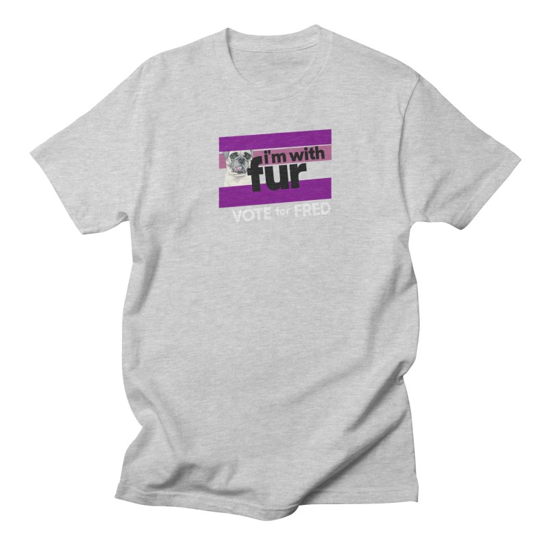 Vote for Fred (Purple) Men's Regular T-Shirt by What If World's Imaginarium