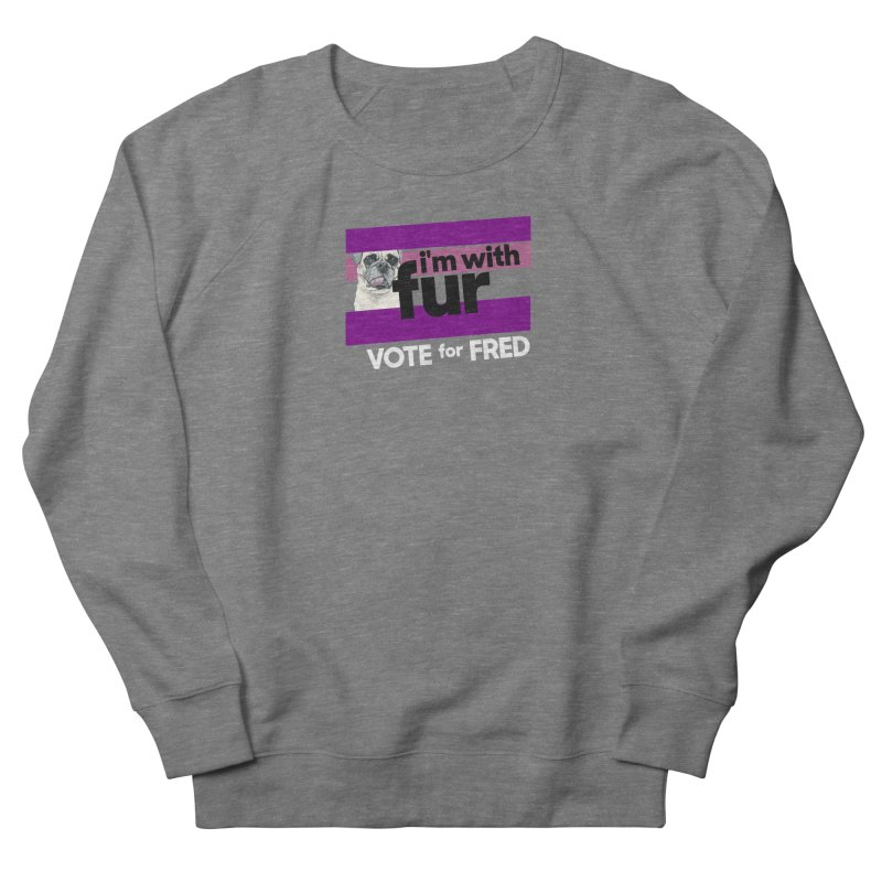 Vote for Fred (Purple) Women's Sweatshirt by What If World's Imaginarium