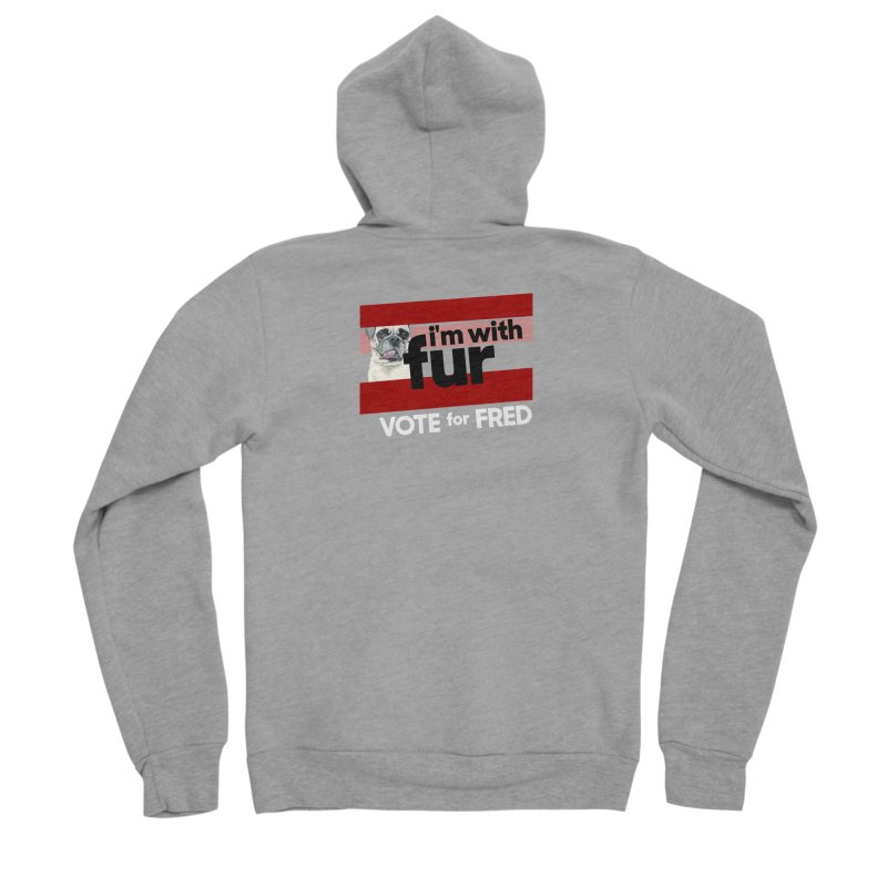 Vote for Fred (Red) Men's Zip-Up Hoody by What If World's Imaginarium