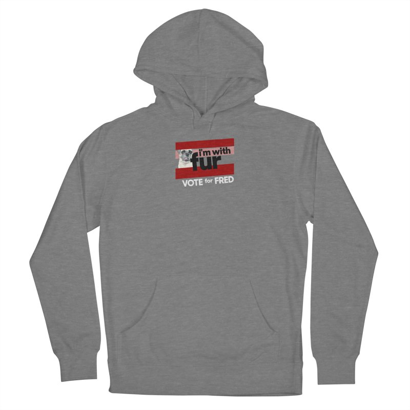 Vote for Fred (Red) Men's Pullover Hoody by What If World's Imaginarium
