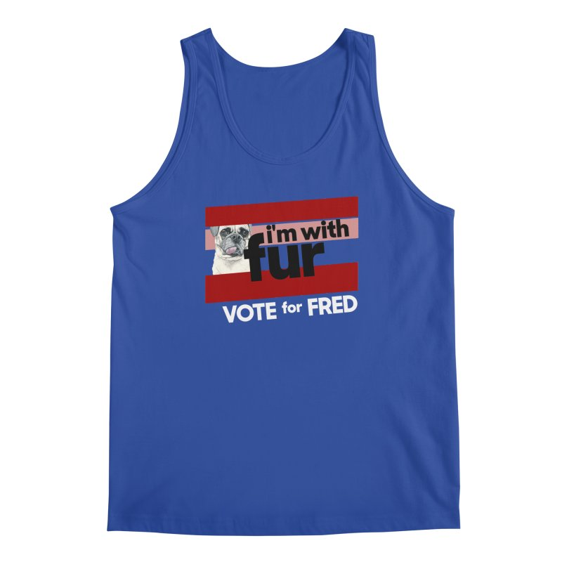 Vote for Fred (Red) Men's Regular Tank by What If World's Imaginarium
