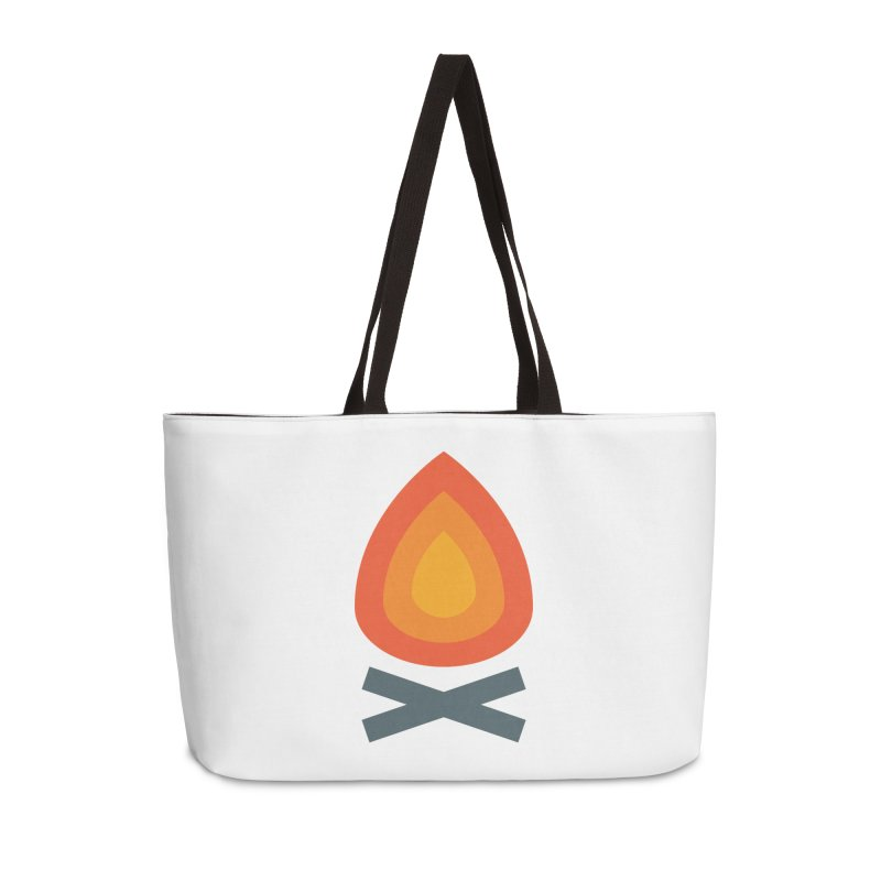 Campfire Media Logo Accessories Bag by Campfire Media