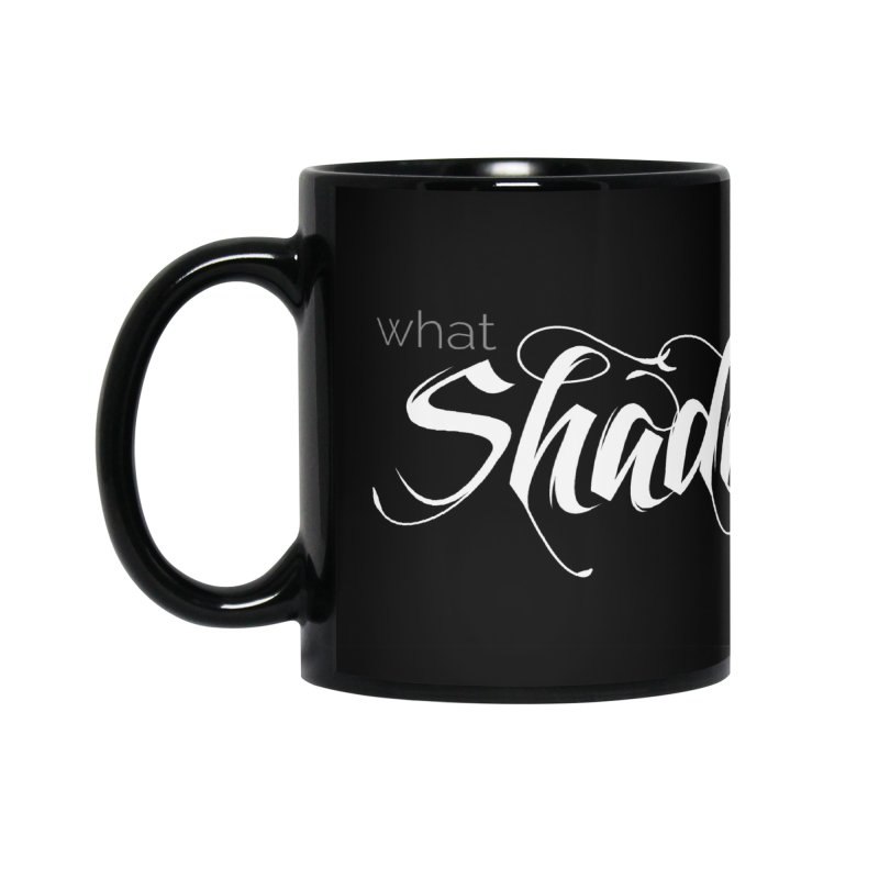 Band Logo Accessories Mug by What Shadows Hide