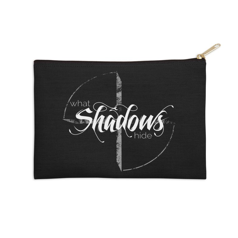 Band Logo Accessories Zip Pouch by What Shadows Hide