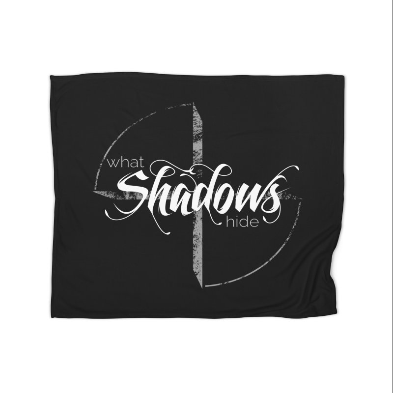 Band Logo Home Blanket by What Shadows Hide