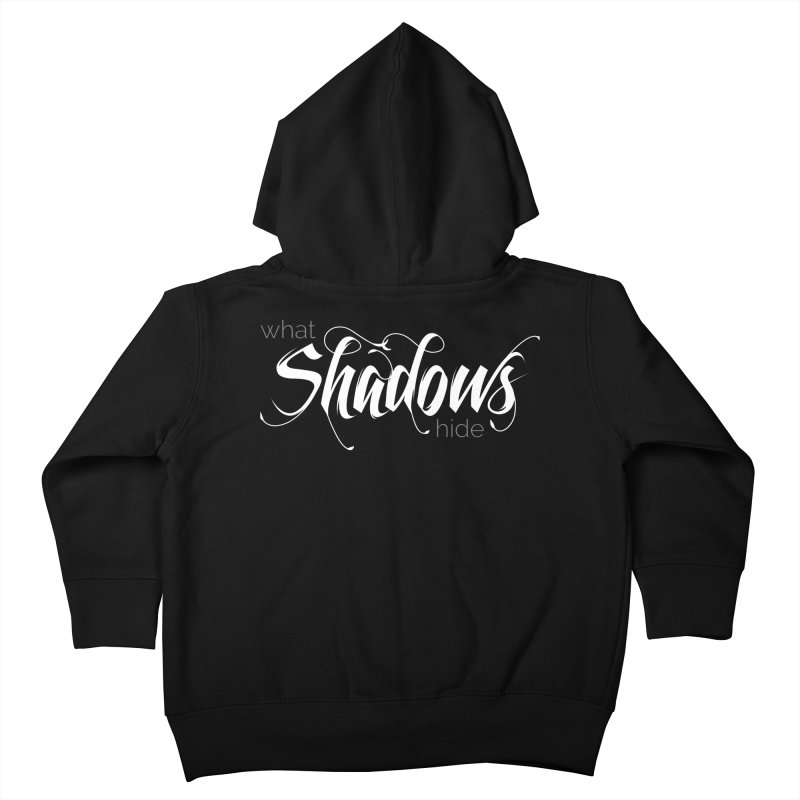 Band Logo Kids Toddler Zip-Up Hoody by What Shadows Hide